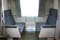 Overnight train Nihonkai. Lower berth can be converted easily to daytime seat layout by yourself.