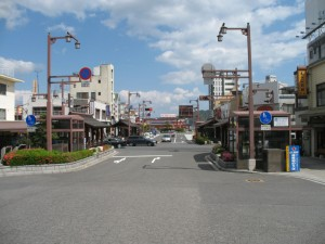 You will see the ferry terminal from the Miyajima-guchi station. It's just steps away!