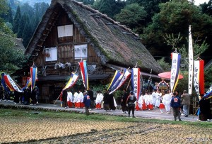 Doburoku Festival in Shirakawa-go
