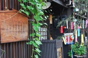 Decoration for Tanabata in Takayama