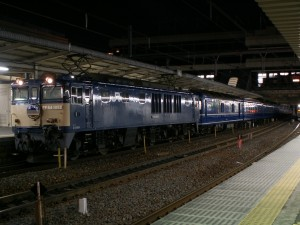 "Overnight train ""Akebono"""
