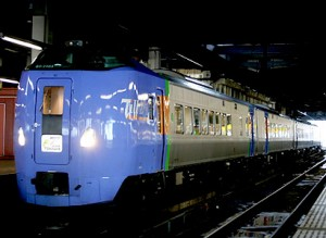 Super Tokachi serviced by KIHA-261 series (C) Sonic Rail Garden