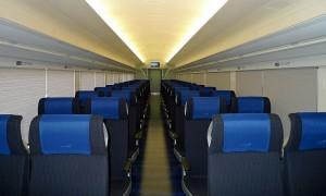 Keisei Skyliner interior (C) PekePON(talk)