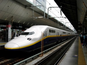 "Double decker train ""MAX"" Shinkansen"