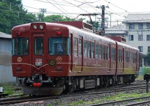 Rapid train Fuji Tozan Densha