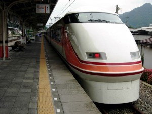 Tobu Railway 100 series Spacia