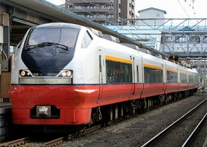 Limited Express Tsugaru operated by E751 series