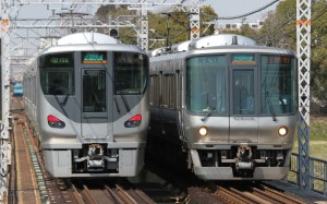 Rapid trains in Kansai area