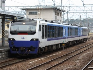 Resort Shirakami operated by Kiha 40 series