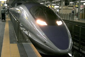 500 series was the coolest and the fastest Shinkansen both Tokaido and Sanyo.