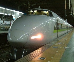 100 series is historical Shinkansen train.
