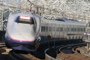 E2 series is the main train on Tohoku Shinkansen.