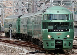 The newer KIHA 72 series for Yufuin no Mori (C) Sonic Rail Garden