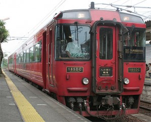 Kiha 185 series will be remodeled for the newest train. (C) Sonic Rail Garden