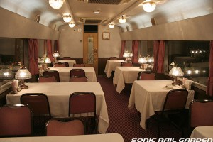 Hokutosei dining car (C) Sonic Rail Garden