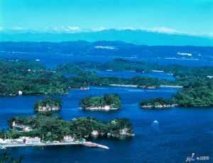 Matsushima is one of three greatest scenery in Japan. ©JNTO