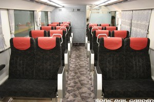 Keihan 8000 series have nice accommodation too. (C) Sonic Rail Garden